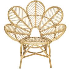 Nyla Rattan Flower Armchair
