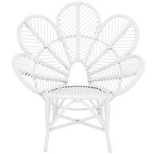 Nyla Rattan Flower Chair