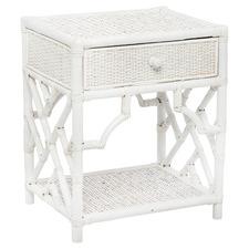 Maison Rattan Bedside Table