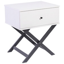 Cayla Cross Legged Bedside Table