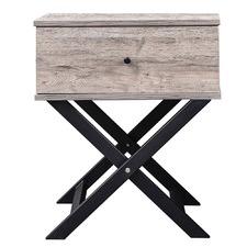 Cayla Cross Legged Bedside Table