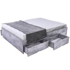 Tula Black Bozz Storage Platform Bed
