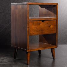 Medium Timber Rosalyn Bedside Table