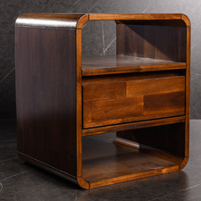 Medium Timber Tiffany Bedside Table