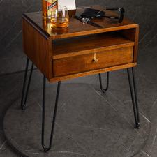 Medium Timber Orden Bedside Table
