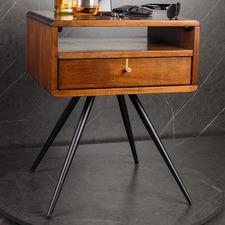 Medium Timber Olwen Bedside Table