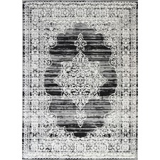 Charcoal & Grey Elise Ornate Rug