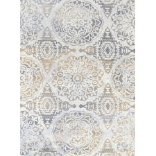 Beige & Light Grey Elise Heartfelt Rug