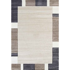 Beige Harry Block Border Rug