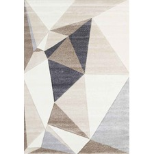 Beige Harry Abstract Modern Rug