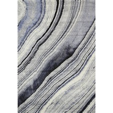 Blue Drift Boston Rug