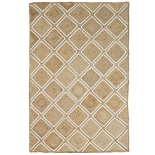 Natural  Parquetry Weave Artisan Contemporary Rug