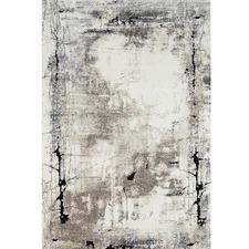 Grey Abstract Boston Rug