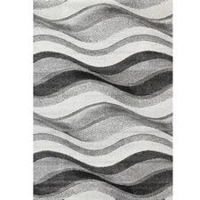 Grey Waves Boston Rug