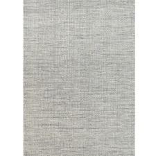 Grey Skandi Hand-Woven Wool Rug
