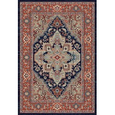 Navy Prime Notes Rug