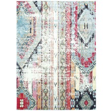 Bohemian Vintage Style Notes Rug