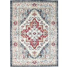 Ocean Nobel Vintage Style Notes Rug