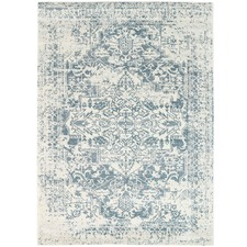 Turquoise Modern Notes Rug