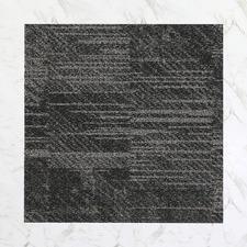 24 Piece Ritz Plaza Tufted Loop Carpet Tiles Set (Set of 2)
