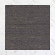 20 Piece Timeless Avenue Textured Loop Carpet Tiles Set (Set of 2)