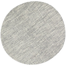 Grey Skandi Hand Woven Wool-Blend Round Rug