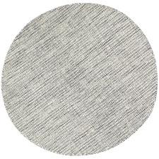 Grey Skandi Wool-Blend Round Rug