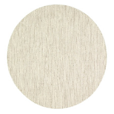 Ivory Skandi Hand Woven Wool-Blend Round Rug