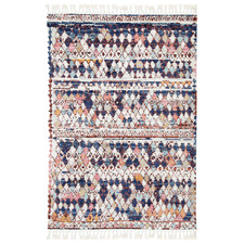 Multi-Coloured Casablanca Boho Moroccan Rug