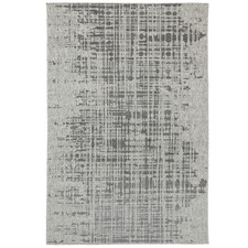 Black & Grey Polo Kailani Patio Rug