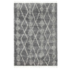 Dark Grey Zara Tribal Kasper Rug