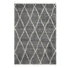 Grey Diamond Tribal Kasper Rug