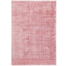 Pink Eden Soft Shag Rug