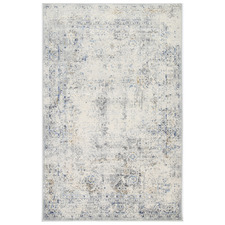 Grey & Navy Expressions Contemporary Rug