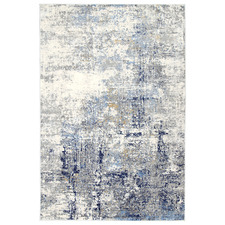 Navy & Cream Expressions Modern Rug