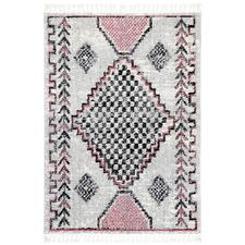 Pink Myk Geometric Rug