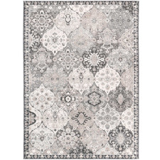 Grey Berker Power-Loomed Rug