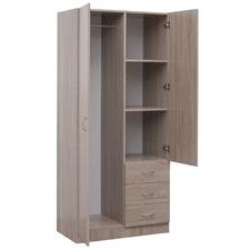 Verity 3 Drawer 2 Door Wardrobe