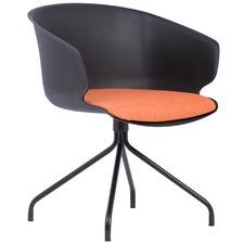 Helma Cushioned Modern Dining Chair