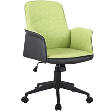 Light Green & Black Baia Office Chair
