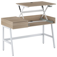 Natural Alaric Sit & Stand Desk