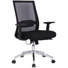 Black Madison Mesh Back Task Chair
