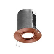 Avoca Solid Copper Adjustable Recessed Outdoor Down Light