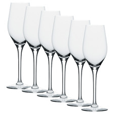 Stolzle Exquisit 265ml Champagne Flutes (Set of 6)