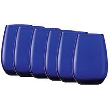 China Blue Stolzle Elements 465ml Tumblers (Set of 6)