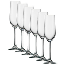 Stolzle Classic 190ml Champagne Flutes (Set of 6)
