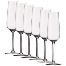 Stolzle Grandezza 214ml Champagne Flutes (Set of 6)