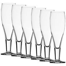 Stolzle Milano 390ml Beer Glasses (Set of 6)