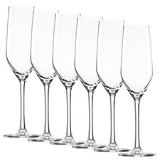 Stolzle Ultra 185ml Champagne Flutes (Set of 6)