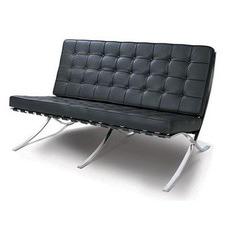 Barcelona 3 Seat Leather Sofa